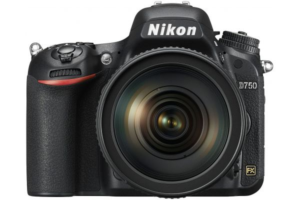 Large image of Nikon D750 24.3 Megapixel Digital SLR Camera With 24-120mm VR Lens Kit - 1549