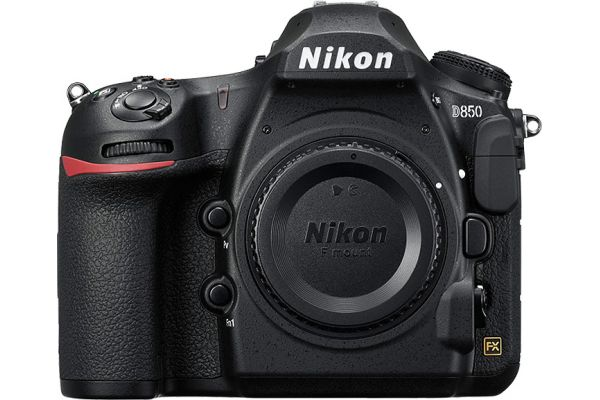Large image of Nikon D850 45.7 Megapixel Black Digital SLR Camera Body - 1585