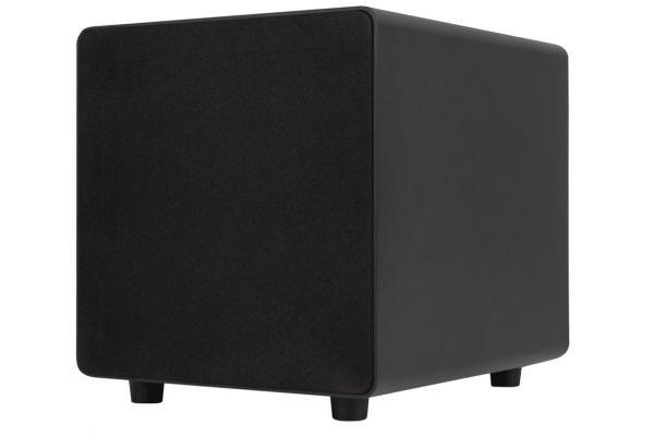 Large image of Sonance D8 Black Compact Cabinet Subwoofer - 93359
