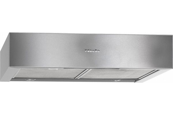 """Large image of Miele 24"""" Stainless Steel Under-Cabinet Chimney Hood - 10662780"""