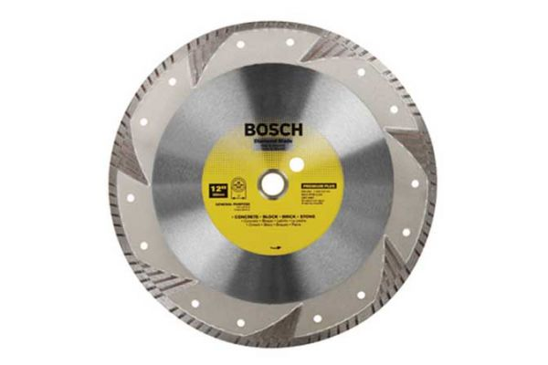 "Large image of Bosch Tools 12"" Premium Plus Turbo Rim Diamond Blade - DB1263"