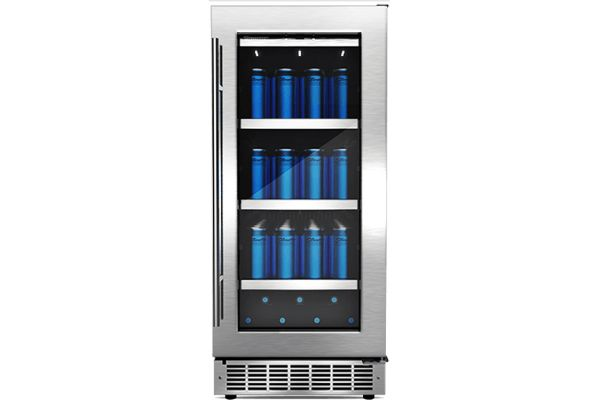 "Danby Silhouette Professional Piedmont 15"" Stainless Steel Single Zone Beverage Center - DBC031D4BSSPR"