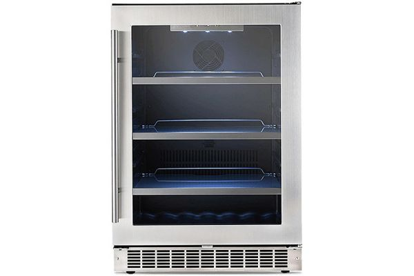"Danby Silhouette Professional Saxony 24"" Stainless Steel Single Zone Beverage Center - DBC056D4BSSPR"