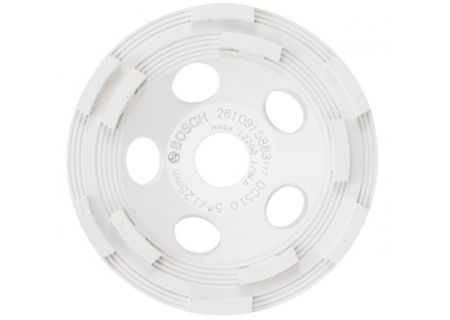 Bosch Tools 5 In Double Row Segmented Diamond Cup Wheel For Concrete - DC510