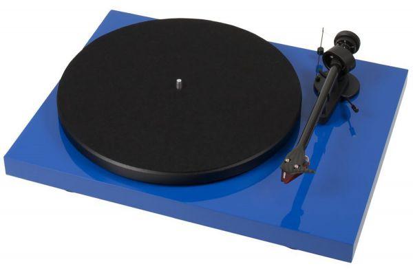 Pro-Ject Debut Carbon DC Blue Turntable - DCARBONDCBLUE