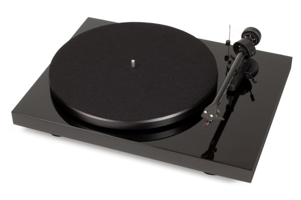 Pro-Ject Debut Carbon Phono USB DC Piano Black Turntable - DCARBONDCUSBBK