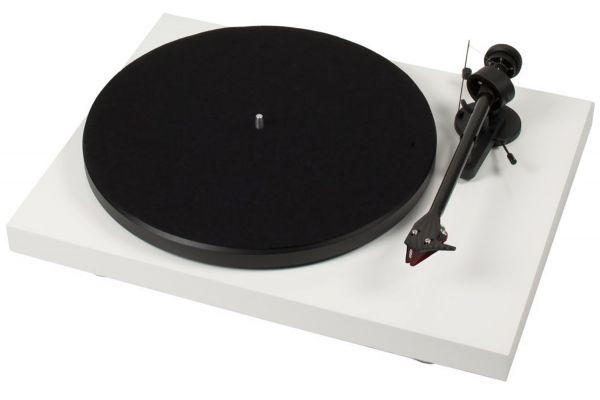 Pro-Ject Debut Carbon DC White Turntable - DCARBONDCWHT