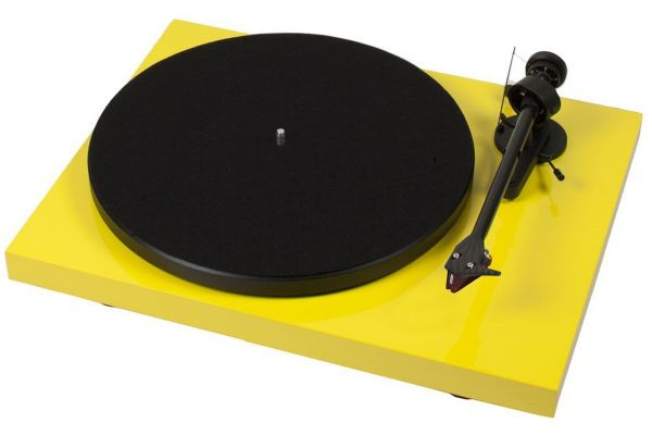 Large image of Pro-Ject Debut Carbon DC Yellow Turntable - DCARBONDCYEL