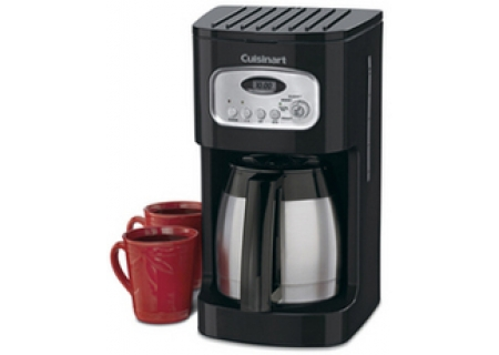Cuisinart 10-Cup Programmable Thermal Black Coffeemaker - DCC1150BK