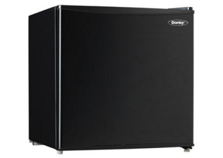 Danby Black 1.6 Cu. Ft. Compact Refrigerator  - DCR016C1BDB