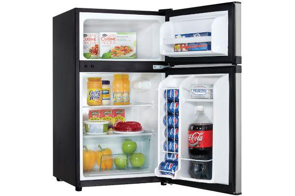 Danby Spotless Steel Compact Refrigerator - DCR031B1BSLDD