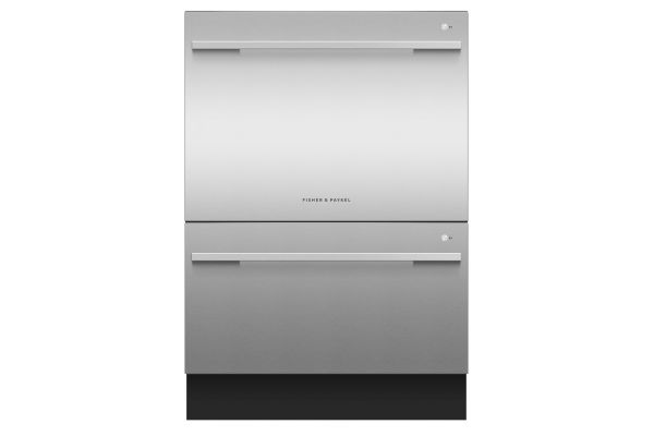 Large image of Fisher & Paykel Stainless Steel Tall Double DishDrawer Dishwasher - DD24DDFTX9N