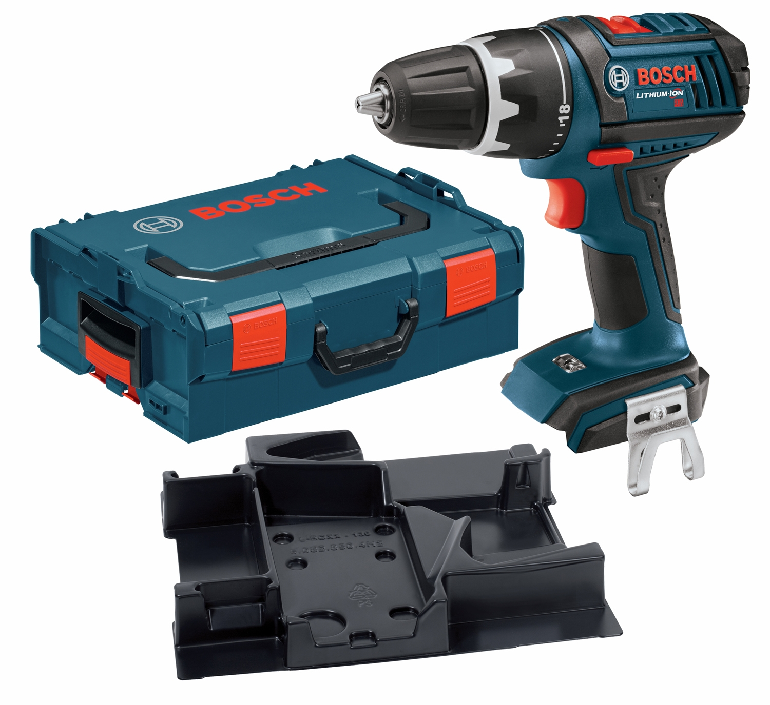 bosch tools 18v compact drill driver dds181bn abt. Black Bedroom Furniture Sets. Home Design Ideas