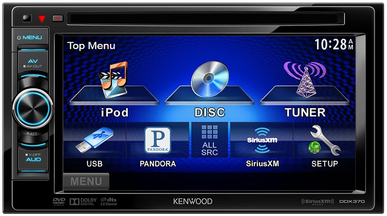 Kenwood Double DIN In Dash DVD Receiver DDX370 Abt #052CBD
