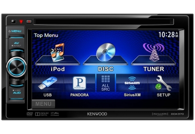 Kenwood - DDX370 - Car Stereos - Double Din