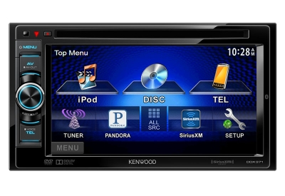 Kenwood - DDX371 - Car Stereos - Double DIN