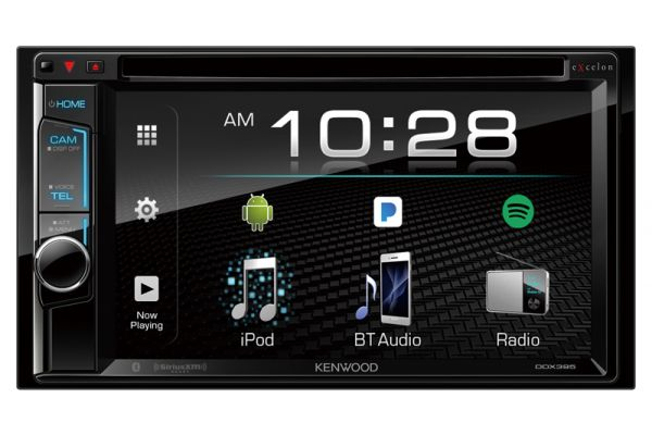 Kenwood eXcelon 2-DIN Monitor Receiver With Bluetooth - DDX-395