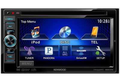 Kenwood - DDX470 - Car Stereos - Double DIN