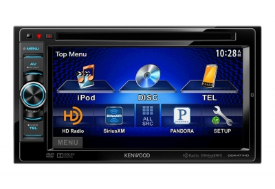 Kenwood - DDX471HD - Car Stereos - Double Din