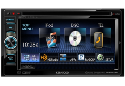 Kenwood - DDX5901HD - Car Stereos - Double DIN