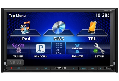 Kenwood - DDX770 - Car Stereos - Double Din