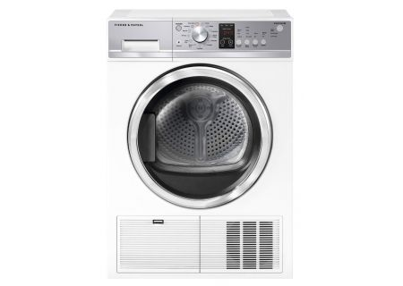 Fisher & Paykel 4.0 Cu. Ft. White Condensing Electric Dryer - DE4024P1