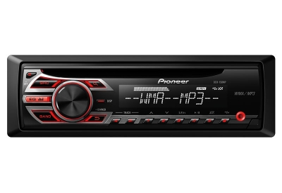 Pioneer - DEH-150MP - Car Stereos - Single Din