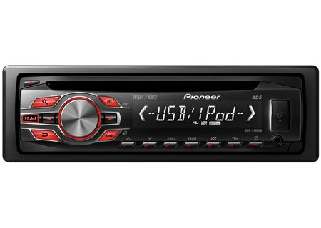 Pioneer - DEH-2400UB - Car Stereos - Single DIN