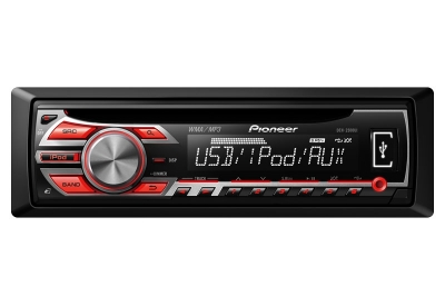 Pioneer - DEH-2500UI - Car Stereos - Single Din