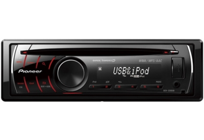Pioneer - DEH-3200UB - Car Stereos - Single Din