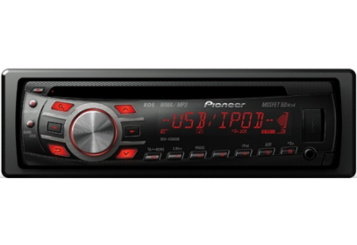 Pioneer - DEH-4300UB - Car Stereos - Single Din
