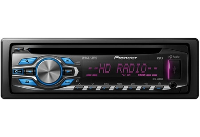 Pioneer - DEH-4400HD - Car Stereos - Single Din