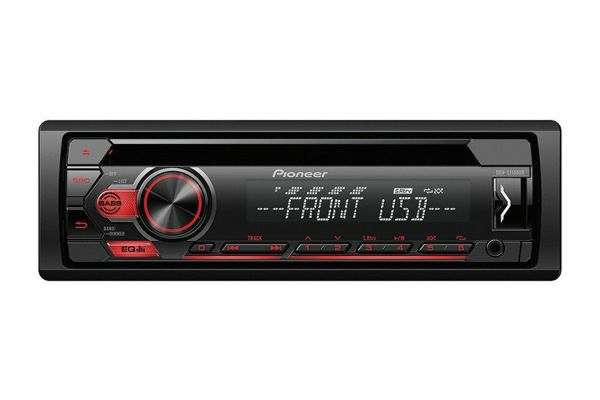 Pioneer Single DIN CD Receiver - DEH-S1100UB