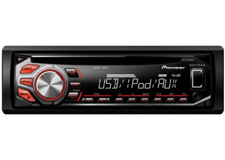 Pioneer - DEHX2600UI - Car Stereos - Single DIN
