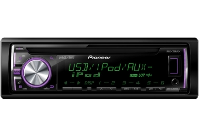 Pioneer - DEHX3600UI - Car Stereos - Single Din