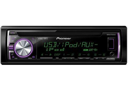 Pioneer - DEHX3600UI - Car Stereos - Single DIN