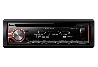 Pioneer - DEH-X3800S - Car Stereos - Single DIN