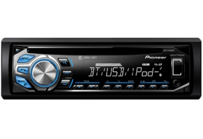 Pioneer - DEHX4600BT - Car Stereos - Single DIN