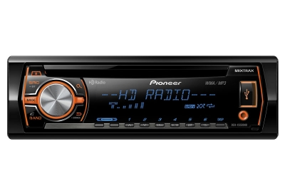 Pioneer - DEH-X5500HD - Car Stereos - Single DIN