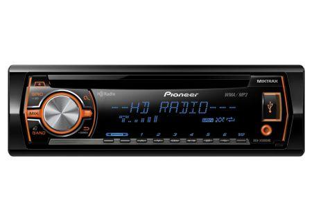 Pioneer - DEH-X5500HD - Car Stereos - Single DIN