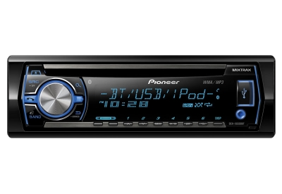 Pioneer - DEH-X6500BT - Car Stereos - Single Din