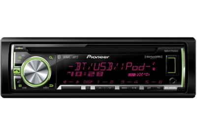 Pioneer - DEHX6600BS - Car Stereos - Single Din