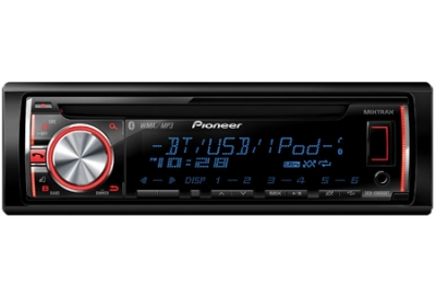 Pioneer - DEHX6600BT - Car Stereos - Single Din