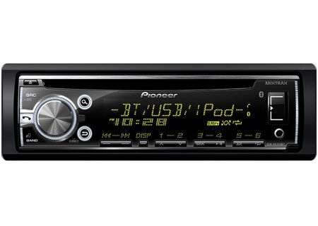 Pioneer - DEH-X6700BT - Car Stereos - Single DIN