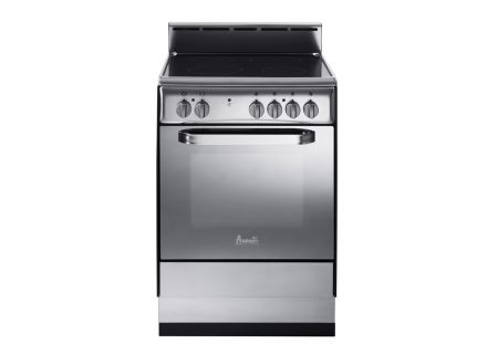 "Avanti 24"" Stainless Steel Deluxe Electric Range - DER242BS"