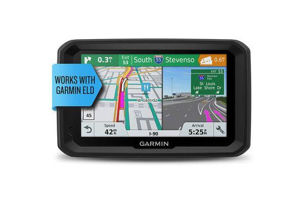 Large image of Garmin Dezl 580 LMT-S Trucking GPS Navigation System - 010-01858-02
