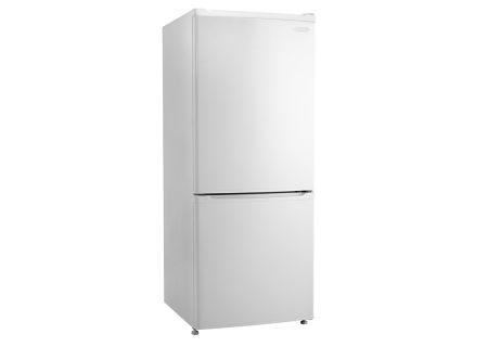 Danby 9.2 Cu. Ft. White Bottom Freezer Refrigerator  - DFF092C1WDB