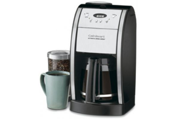 Cuisinart 12-Cup Automatic Black Coffeemaker - DGB550BK