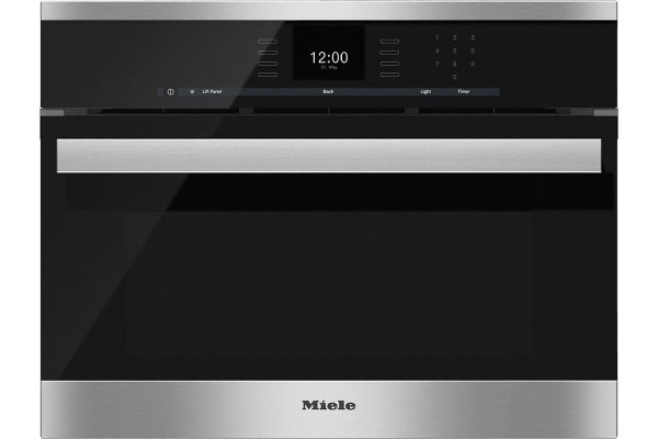 """Large image of Miele 24"""" Clean Touch Steel PureLine Combi-Steam Oven - 10256720"""