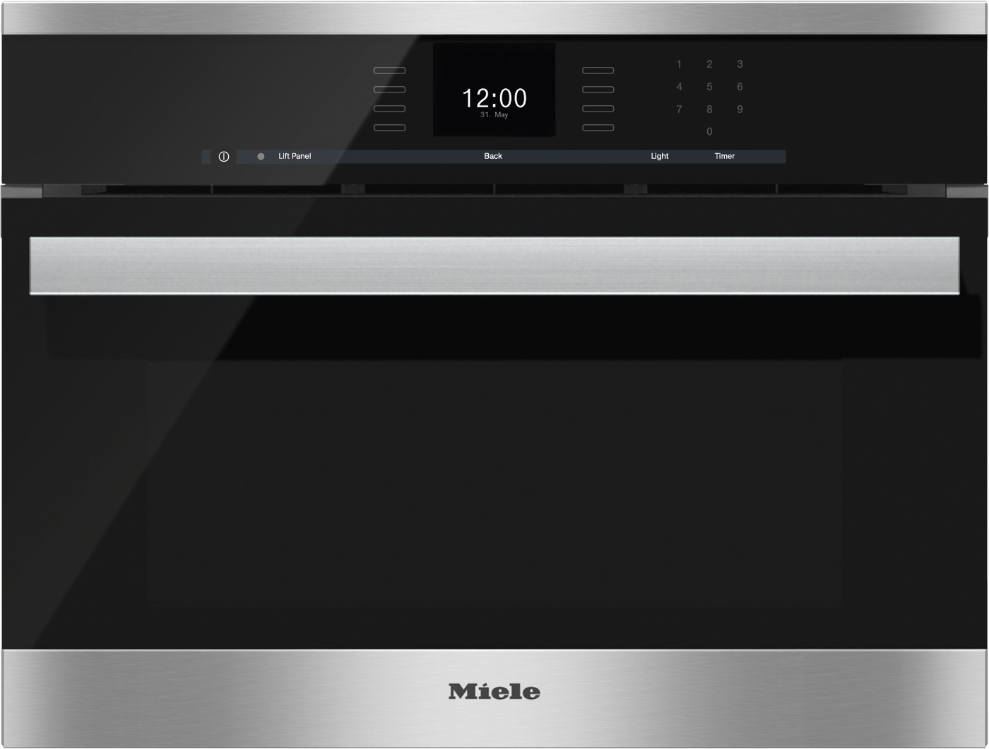 miele stainless sensortronic combi steam oven dgc6600xl. Black Bedroom Furniture Sets. Home Design Ideas